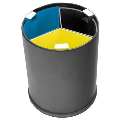 Afvalbakken gescheiden afval